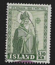 Iceland Scott #270, Single 1950 FVF Used