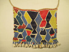 Schöne Ethnokette Togo AP41 Krobo Ghana Recycling Glass Brass Beads Afrozip