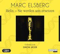 SIMON JÄGER - HELIX-SIE WERDEN UNS ERSETZEN (SA)  2 MP3 CD NEU