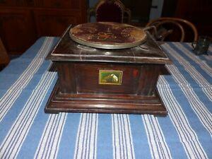 Original altes Grammophon His Master's Voice um 1900 Ersatzteile