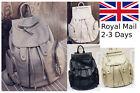 Fashion Women Leather Travel Satchel Shoulder Backpack School Rucksack Bags