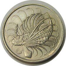 elf Singapore 50 Cents 1982  Lionfish  Fish
