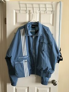 Adidas X Ivy Park Light Blue Track Jacket
