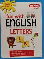 Kindergarten English activity book for School Readiness:Fun with English letters