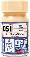 NEW Gaia Color ガイア Lacquer Model Kit Paint 15ml # 051 Notes Flesh