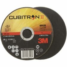 50x 3M Cubitron II Trennscheiben 125 x 1,0 x 22,2 mm hart, extradünn, für Edelst