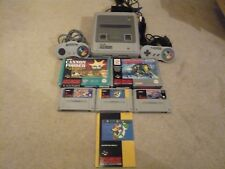 SUPER NINTENDO / SNES CONSOLE BUNDLE , 5 GAMES , PAL , SUPER MARIO WORLD , .....