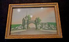 Vintage Real Photo St Louis Gate Quebec,Canada Framed Hand Colored?
