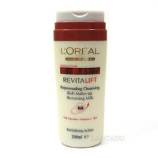 L'Oreal Revitalift Cleansing Rich Makeup Removing Milk 200ml - BATCH CODE 28G100