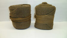 WW1 CANADIAN PUTTIES !! ORIGINAL AND AUTHENTIC!