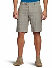 French Connection Chino Check Wales Men's Linen Shorts 30W