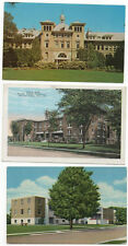 3-POSTCARDS, STEVENS POINT WIS.UNIVERSAITY OF WISCONSIN, DORMS, OLD MAIN