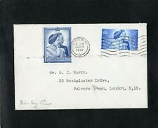 GB - 1948 - KG VI - SILVER WEDDING - FIRST DAY COVER - WITH LONDON CDS POSTMARK