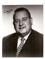"""Authentic Joe DeRita """"Curly Joe"""" Autographed Photo - Three Stooges"""