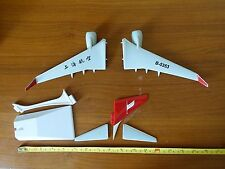 1/100 Shanghai Airlines Boeing B737-800 BBJ Winglets CFM56-7 Engine Wings Model