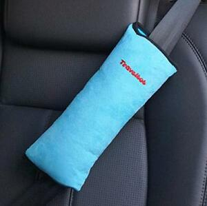 Seatbelt Pillow Travel Pillow for Baby Toddler Seat Belt Stroller Comfy Blue