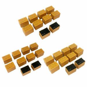 5/12/24V Miniatur Power Relais 10x Mini Leistungsrelais für Printmontage, DC