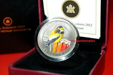 2012 Canada Bird Series Evening Grosbeak Quarter 25 Cent