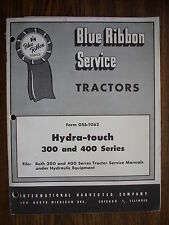 IH Farmall Mccormick 300 350 400 450 Hydra-Touch Service Manual
