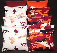VIRGINIA TECH University HOKIES CORNHOLE BEAN BAGS V Tech Tailgate Toss Game