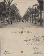 Tarjeta Postal. Alicante. Nº 1696. Paseo de los Mártires.