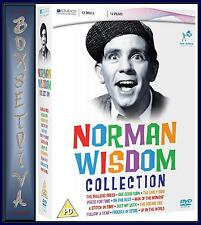 NORMAN WISDOM COMPLETE COLLECTION - NEW & SEALED 12 DVD