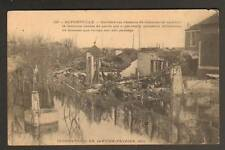 ALFORTVILLE inondation 1910 (94) DESTRUCTION des VILLAS