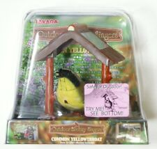 Takara Outdoor Breezy Singers Common Yellowthroat Motion-activated Solar Powered