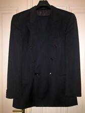 HUGO BOSS (jacket+pants) Zeus Akropolis gray wool double breasted suit 102 42L