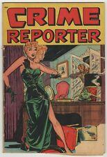Crime Reporter (1948) #3 Classic Matt Baker Cover George Tuska Art St John GD-