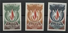 FRANCE, UNESCO OFFICIALS, HUMAN RIGHTS 1975, IMPERFORATED , MNH