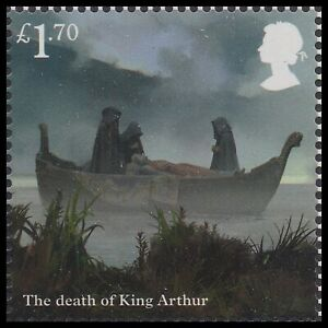 GB The Legend of King Arthur The Death £1.70 single MNH 2021