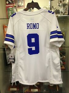 Tony Romo Cowboys Womens Medium Game Nike Jersey NEW w/tags