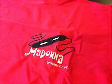 Very Rare Vintage Madonna 1993 Girlie Show Usa Metallic Red Sleeveless T Shirt