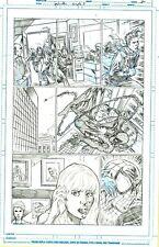 Netho Diaz SPIDER-MAN Sample Page 2 Original Art