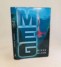 Meg-Steve Alten-SIGNED!!-TRUE First Edition/1st Printing-DEBUT-FILM-VERY RARE!!