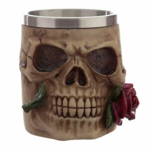 Skulls and Roses Tankard - Decorative Only
