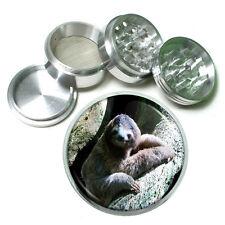 "Cute Sloth Images D6 Aluminum Herb Grinder 2.5"" 63mm 4 Piece"