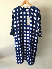 Country Road CR Love Sz 10 12 14 Trenery Painterly Gingham Dress S M L 14