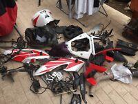 Pezzi di ricambio Honda CBR 1000 RR 04 05 06 07