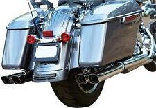 FireBrand - 101004 - Double Down 2.5in. Touring Slip-Ons, Chrome