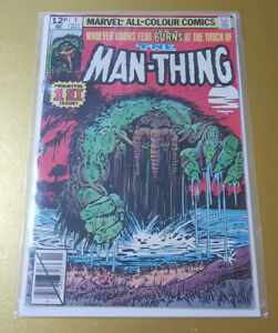 Marvel📖 The Man-Thing #1 Nov. 1979. Wiacek/Fleisher/Mooney BRONZE AGE NM 9.4 (a