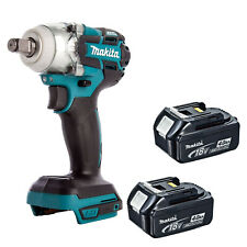 MAKITA 18V LXT DTW285 DTW285Z DTW285RFE IMPACT WRENCH AND 2 BL1840 BATTERIES