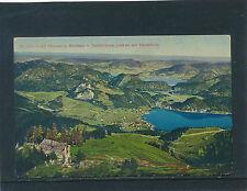 AK aus St.Gilgen mit Abersee und Mondsee, Salzburg   29/9/15
