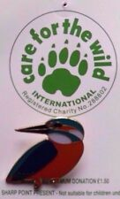 RARE BIRD CHARITY ENAMEL PIN BADGE NOT RSPB YOC