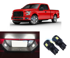 2x Bright White License Plate Lights LED Bulbs lamp For Ford F-150 1997-2017