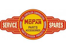 NEW Mopar Service Station tin metal sign