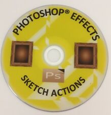 PHOTOSHOP ACTIONS SKETCH & PHOTOGRAPHY EFFECTS BACKGROUNDS TRANSFORM PHOTOGRAPHS