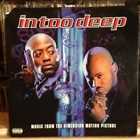 """{OST}~NM 2 DOUBLE LP~""""IN TOO DEEP""""~Soundtrack~[VARIOUS]~[1999~SONY~Issue]~"""