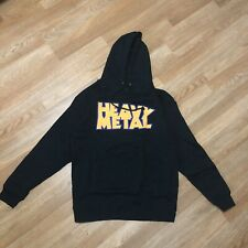 The Hundreds x Heavy Metal - Cover Pullover Hoodie - Black - Large